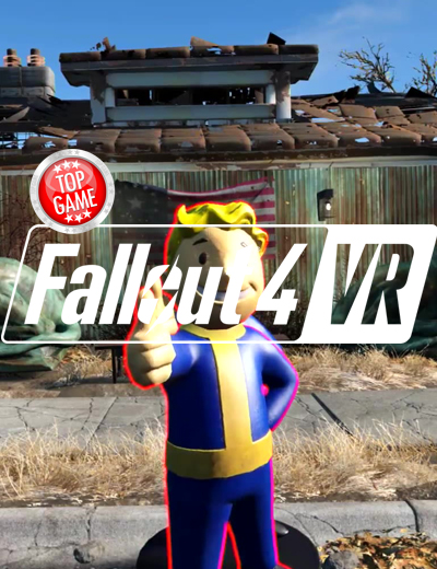 Fallout 4 VR New Gameplay and PC System Requirements Announced!