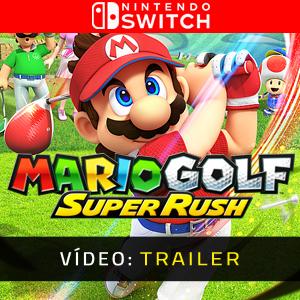 Mario Golf Super Rush Vídeo do atrelado