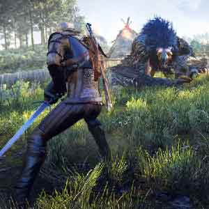 The Witcher 3 Wild Hunt Killed Enemy