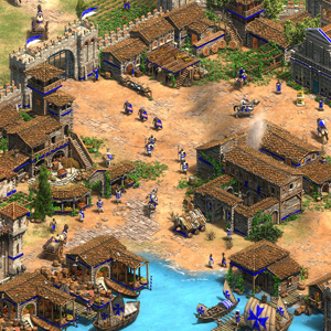 Age of Empires 2 Definitive Edition Lords of the West Docas