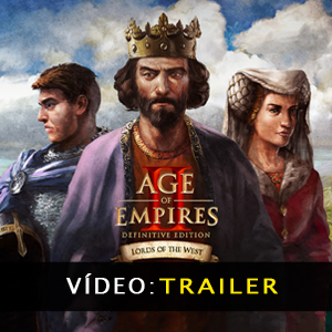 Age of Empires 2 Definitive Edition Lords of the West Vídeo do atrelado