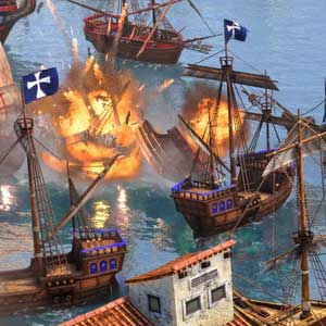 Age of Empires 3 Definitive Edition Batalha Naval