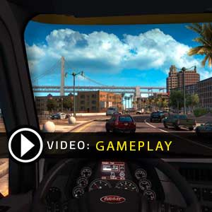 American Truck Simulator Gameplay Video