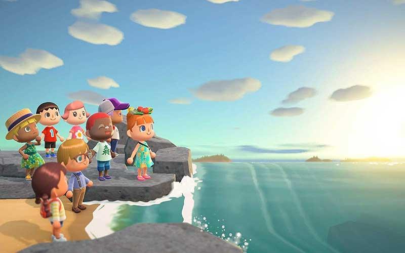 Animal Crossing New Horizons Nintendo Switch Praia 2