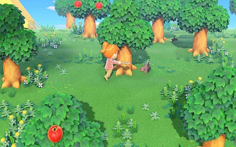 Animal Crossing New Horizons Nintendo Switch Floresta