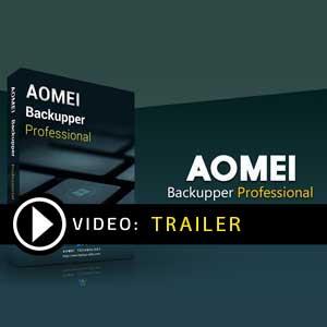 Comprar AOMEI Backupper Professional CD Key Comparar os preços