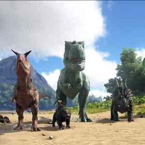 ARK Survival Evolved -Linha de Dinossauros
