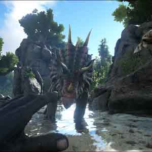 ARK Survival Evolved -ataque dos dinossauros