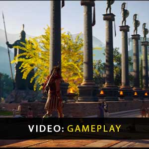 trailer Assassins Creed Odyssey gameplay