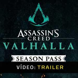 Assassins Creed Valhalla Season Pass Vídeo do Atrelado