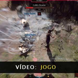 Vídeo de jogabilidade do Baldurs Gate 3