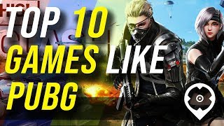 10 Melhores jogos como PUBG