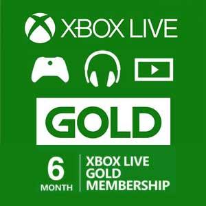 Comprar 6 Meses Gold Xbox Live Codigo Comparar Preços
