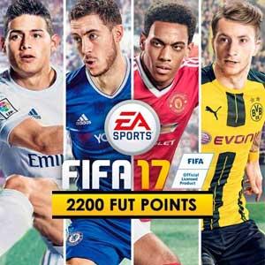 Comprar FIFA 17 2200 FUT Pontos CD Key Comparar Preços