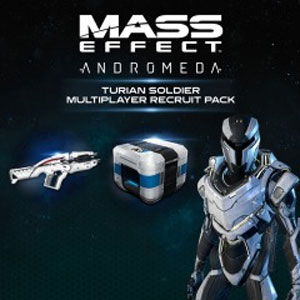 Comprar Mass Effect Andromeda Turian Soldier Multiplayer Recruit Pack Xbox Series Barato Comparar Preços