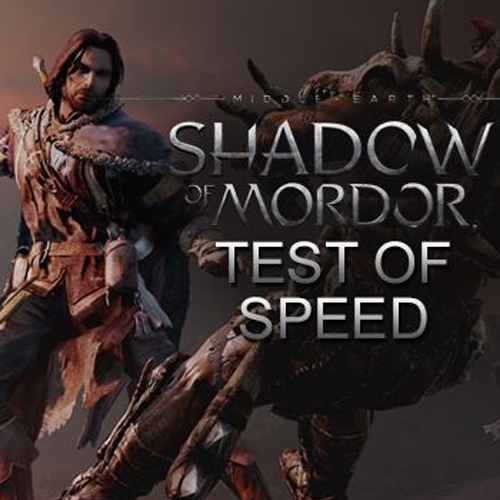 Comprar Middle-earth Shadow of Mordor Test of Speed CD Key Comparar Preços