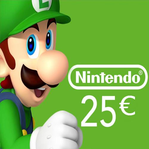 Comprar cartão Nintendo eShop 25 Euro Comparar Preços
