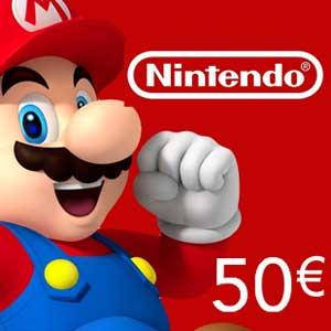 Comprar cartão Nintendo eShop 50 Euro Comparar Preços