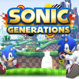 Comprar código download Sonic Generations Nintendo 3DS Comparar Preços