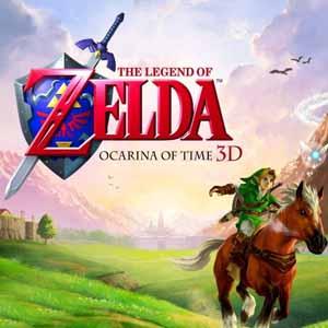 Comprar código download The Legend of Zelda Ocarina of Time 3D Nintendo 3DS Comparar Preços