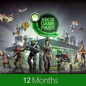 Xbox Game Pass 12 Meses
