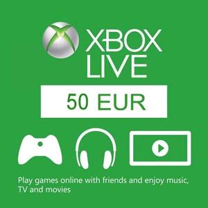Comprar 50 Euro Xbox Live Codigo Comparar Preços