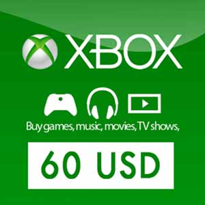 US 60 USD Gift Card