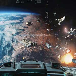 Batalha Aérea em Call of Duty Guerra Infinita
