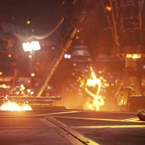 Call of Duty Guerra Infinita Combate espacial exterior