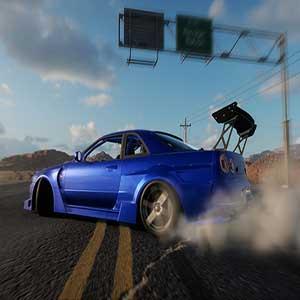 CarX Drift Racing Online Pista do deserto