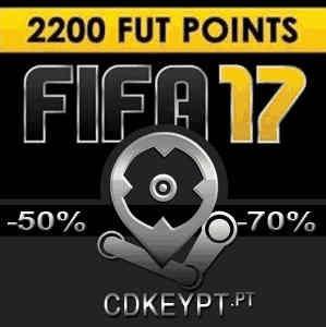 FIFA 17 2200 FUT Pontos