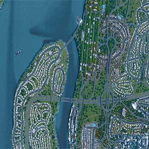 Cities Skylines Estradas no centro da cidade