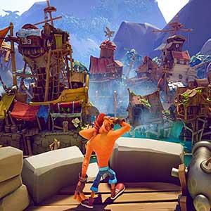 Crash Bandicoot 4 Its About Time Cidade