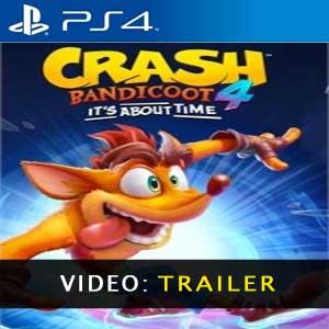 Crash Bandicoot 4 Its About Time Vídeo do atrelado
