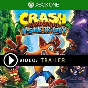 Comprar Crash Bandicoot N. Sane Trilogy Xbox One Barato Comparar Preços