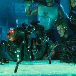 Cyberpunk 2077 Robô Militech