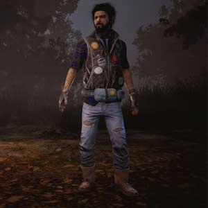Dead By Daylight: Casaco de ganga e calças de couro Jake in Patches