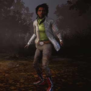 Dead By Daylight: Claudette em Casaco Eléctrico e Botas Vermelhas Flash Boots