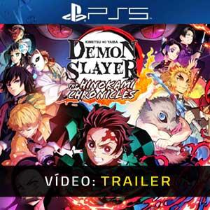 Demon Slayer Kimetsu no Yaiba The Hinokami Chronicles PS5 Atrelado De Vídeo