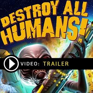 Destroy All Humans trailer de vídeo