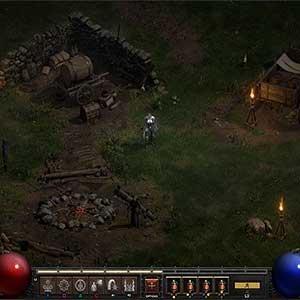 Diablo 2 Resurrected Acampamento