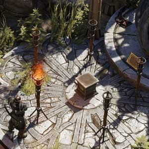 Divinity Original Sin 2 Interface do jogo