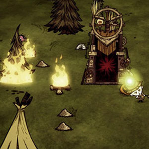 Don't Starve Together - Gameplay