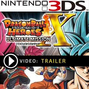 Comprar código download Dragon Ball Heroes Ultimate Mission X Nintendo 3DS Comparar Preços