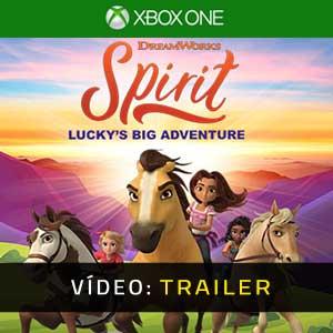 DreamWorks Spirit Lucky's Big Adventure Xbox One Atrelado de vídeo