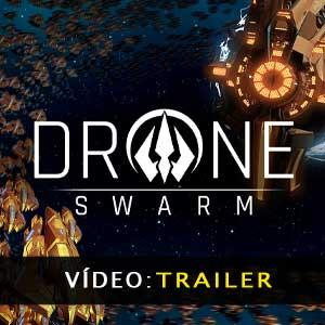 Drone Swarm Vídeo do atrelado