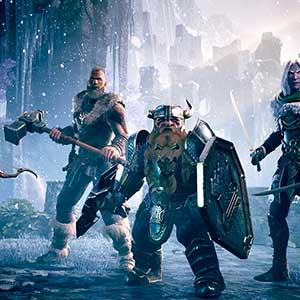 Dungeons & Dragons Dark Alliance Personagens Principais