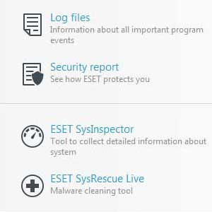 Eset Nod32 Global License ferramentas
