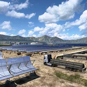 Euro Truck Simulator 2 Iberia Painéis Solares