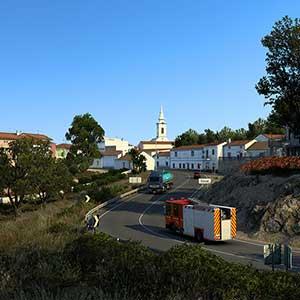 Euro Truck Simulator 2 Iberia Cidade